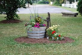 this would be my favorite pumps pinterest barrel planter