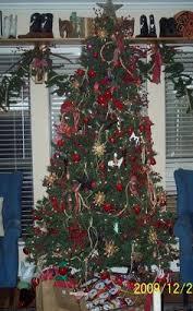 Cowboy Christmas Decorating Ideas Cowboy Christmas Tree Christmas Decorations Pinterest Cowboy