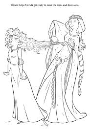 Brave Coloring Pages Princess Merida Coloring Pages For Kids Disney Brave Coloring Pages