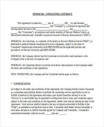 consultant contract template 6 consulting contract templates