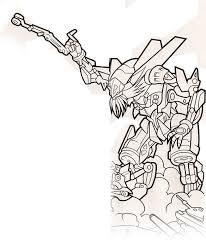 revenge fallen coloring book preview transformers