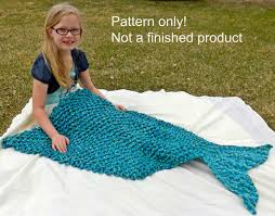 crochet pattern mermaid tail blanket pattern size lap