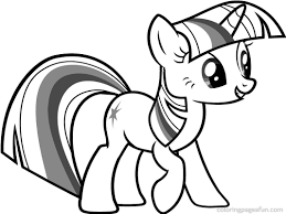 printable 22 pony coloring pages rainbow dash 3108