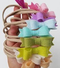 baby bows and headbands handmade pastel rainbow baby bows headbands in pastel