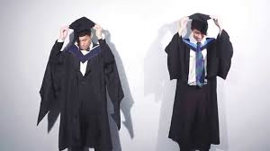 graduation robe academic dress for graduation gentlemen version