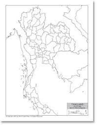 thailand vector map outline map of thailand with provincial state boundaries
