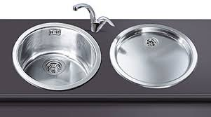 round sink bowl lamona round bowl sink with drainer stainless steel kitchen round