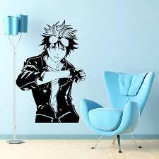 anime manga boy guy japanese style wall vinyl sticker decal art anime manga boy guy japanese style wall vinyl sticker decal art mural d1855