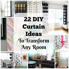Simple Curtains For Living Room 22 Elegant And Simple Diy Curtain Ideas That Will Transform Any