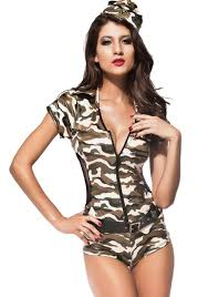 jumpsuit army costumes costume women costume halloween
