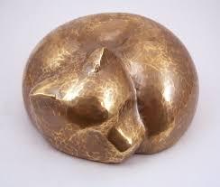 cat urn steve shelby cat memorial urn in copper