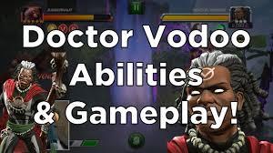 marvel thanksgiving doctor voodoo abilities u0026 gameplay marvel contest of