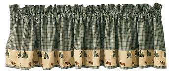 amazon com park designs northern exposure valance 72 x 14