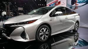 toyota car models and prices 2017 toyota prius prime options specs solar panels fast charging