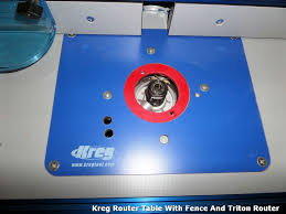 for sale kreg router table fence plate and micro adjuster