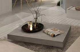 cement table and chairs furniture appealing concrete coffee table with furry rug and white