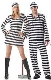 convict halloween costumes halloween costumes convict stripes couple female prisoners