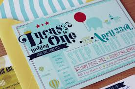 first birthday party invitations for baby lucas