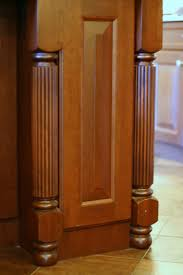 Kitchen Island Legs Kitchen Cabinets With Legs Or Arched Aprons Decorative Legs For