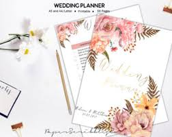 wedding planner agenda wedding planner wedding binder printable wedding planner