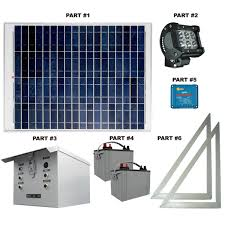 Flag Pole Lights Solar Powered Solar Commercial Flag Pole Light System