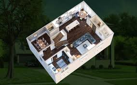 Leed Certified Home Plans Eco Three Model