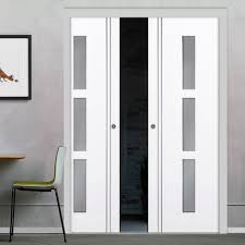 si e auto safety pocket blanco door with frosted safety glass is white