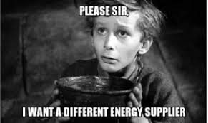 Electricity Meme - power to the tenant please sir i want a different energy