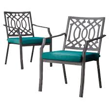 Harper Piece Metal Patio Dining Chair Set Threshold  Target - Threshold patio furniture