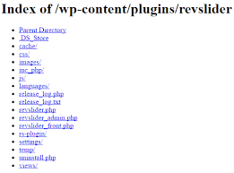 how to prevent directory browsing in your wordpress site online