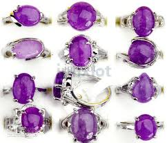 stone rings jewelry images 2018 fashion jewelry natural stone ring amethyst gem rings fashion jpg