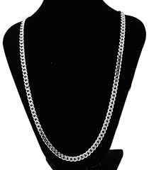curb link necklace images Men 39 s stainless steel cuban curb link chain necklace jpg