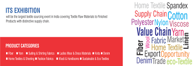 Supply Chain Fashion Industry Largest Textile Sourcing Exhibition In South Asia Indian Textile