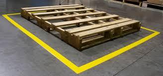 Floor Tape by Pallet Marking Kit
