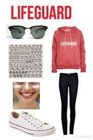 White T Shirt Halloween Costume Ideas 25 Best Lifeguard Halloween Costume Ideas On Pinterest
