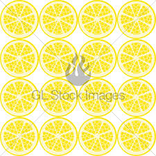 seamless lemon pattern seamless lemon pattern gl stock images