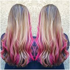 25 best ideas about highlights underneath on pinterest best 25 pink streaks ideas on pinterest pink streaks in hair