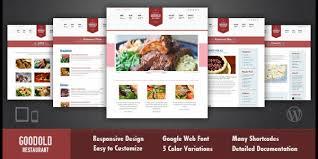 goodold restaurant v1 0 u2013 themeforest wordpress theme responsive