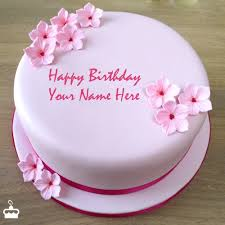 birthday cake pictures pink birthday cake with name download