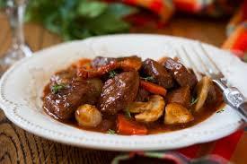 cuisiner le boeuf recette de boeuf carottes façon grand mère