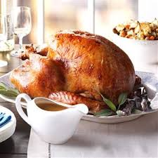thanksgiving stuffed turkey recipe taste of home