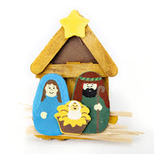 wooden nativity christmas kit christmas decoration crafty crocodiles