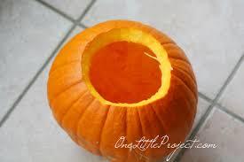 halloween ideas easy drilled pumpkins