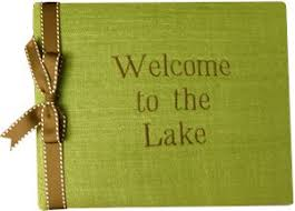 monogrammed guest book 13 best lake house guest book images on lake homes
