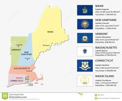 Map Of New England Area by New England States Map Royalty Free Cliparts Vectors And Stock An