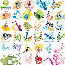 imagenes logos musicales vector gratis de logos de música