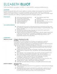 Resume Livecareer Handsome Marketing Resume Examples Sample Resumes Livecareer
