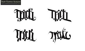 flowers and ambigram designs tattooshunter com