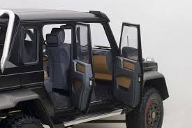 mercedes 6x6 highly detailed autoart black composite mercedes benz g63 amg 6x6