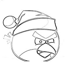 christmas angry birds coloring pages printable free coloring